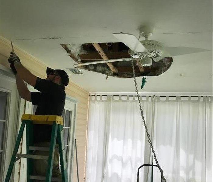 Mold in ceiling, Naples Florida