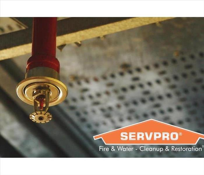 Automatic ceiling Fire Sprinkler in red water pipe System